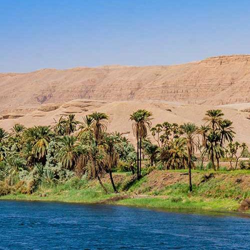 Obala uz rijeku Nil.